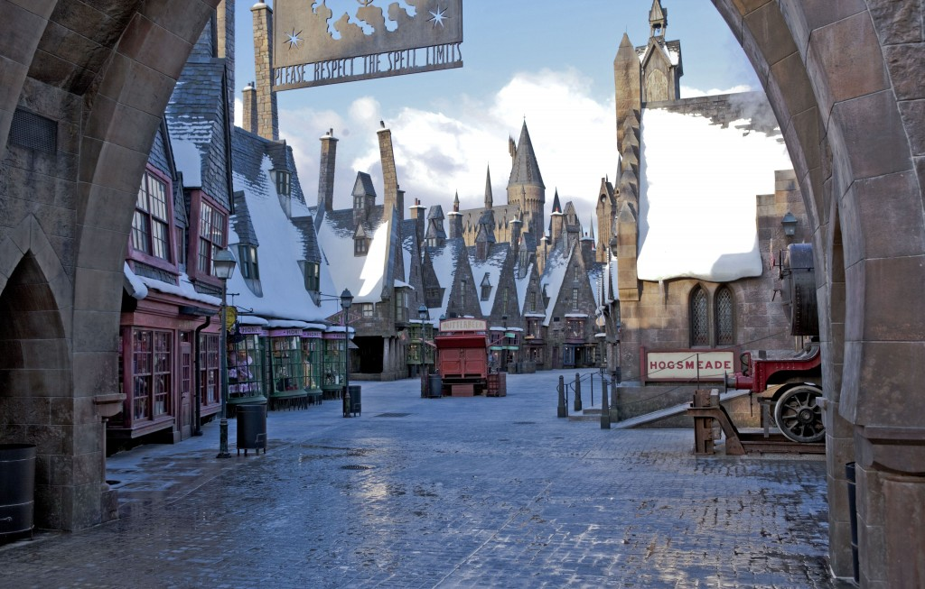 Hogsmeade, locul in care magia se intampla