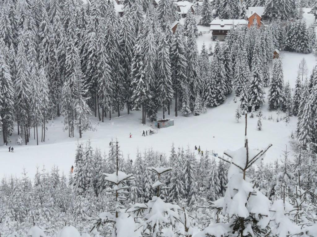 Iarna este atât de frumoasă la Băile Tușnad