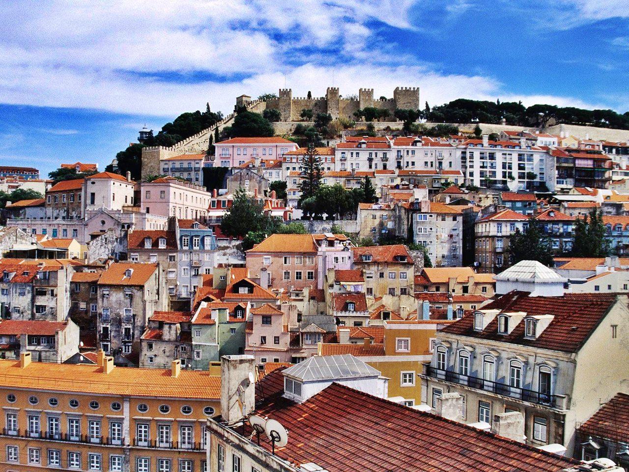 Imagine clasică din Lisabona