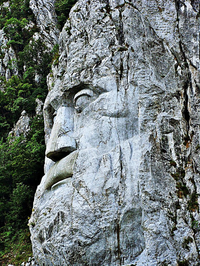 Imaginea regelui de piatra