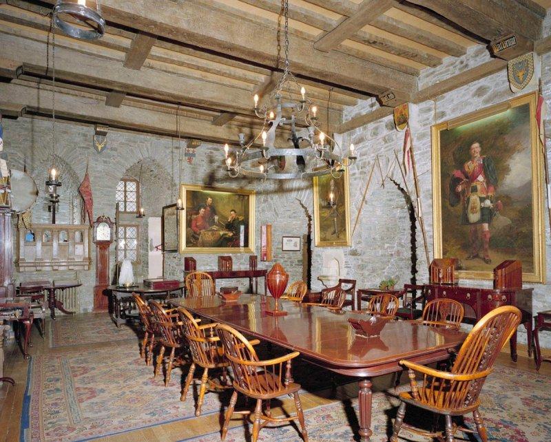 Interior din Castelul Eilean Donan, Scoţia