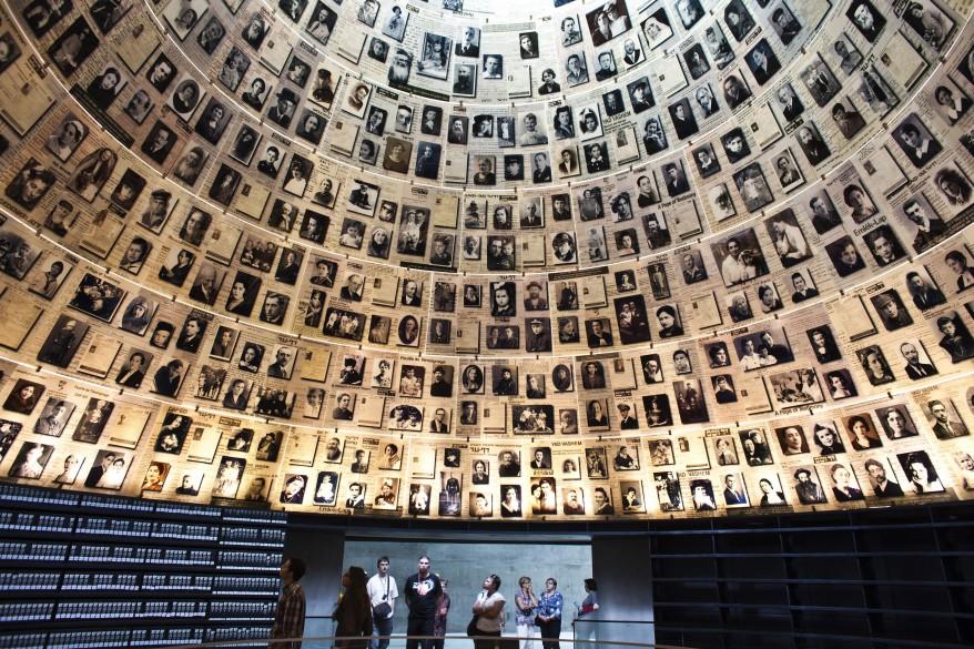 Interior din Muzeul Holocaust