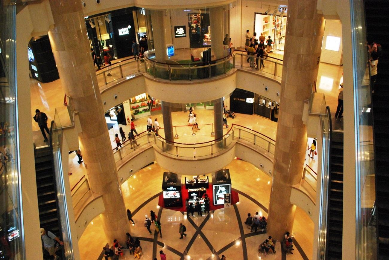 Interior din Taipei 101