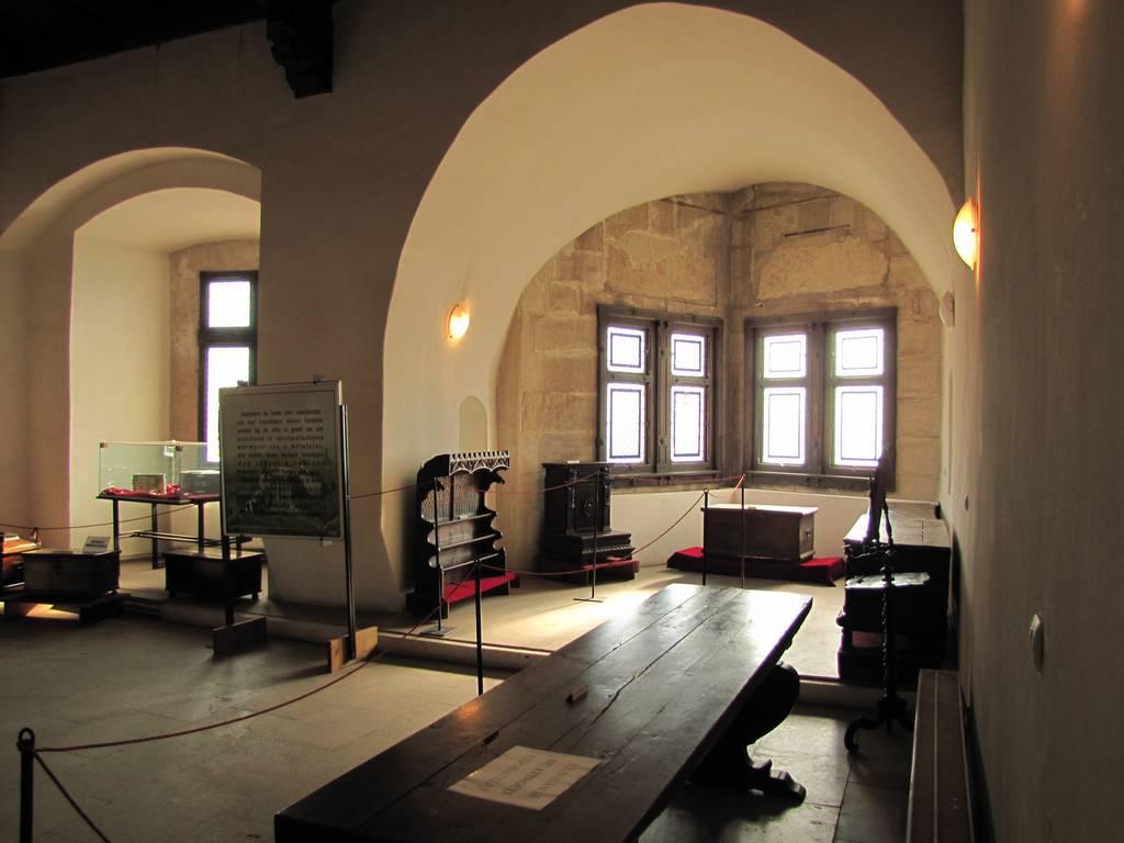 Interiorul amenanjat ca muzeu
