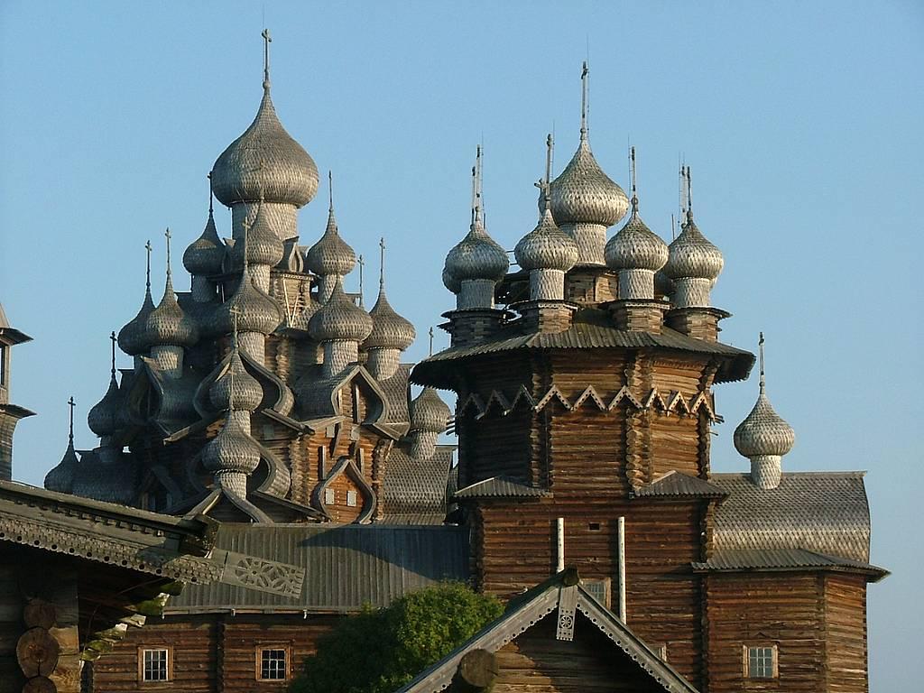 Kizhi Pogost, frumoasele biserici din lemn  ale regiunii