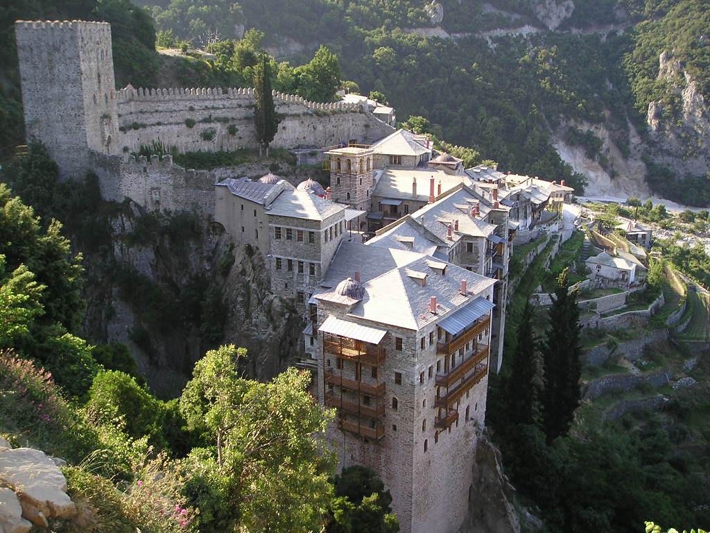 Lăcaşe de cult, Muntele Athos, Grecia