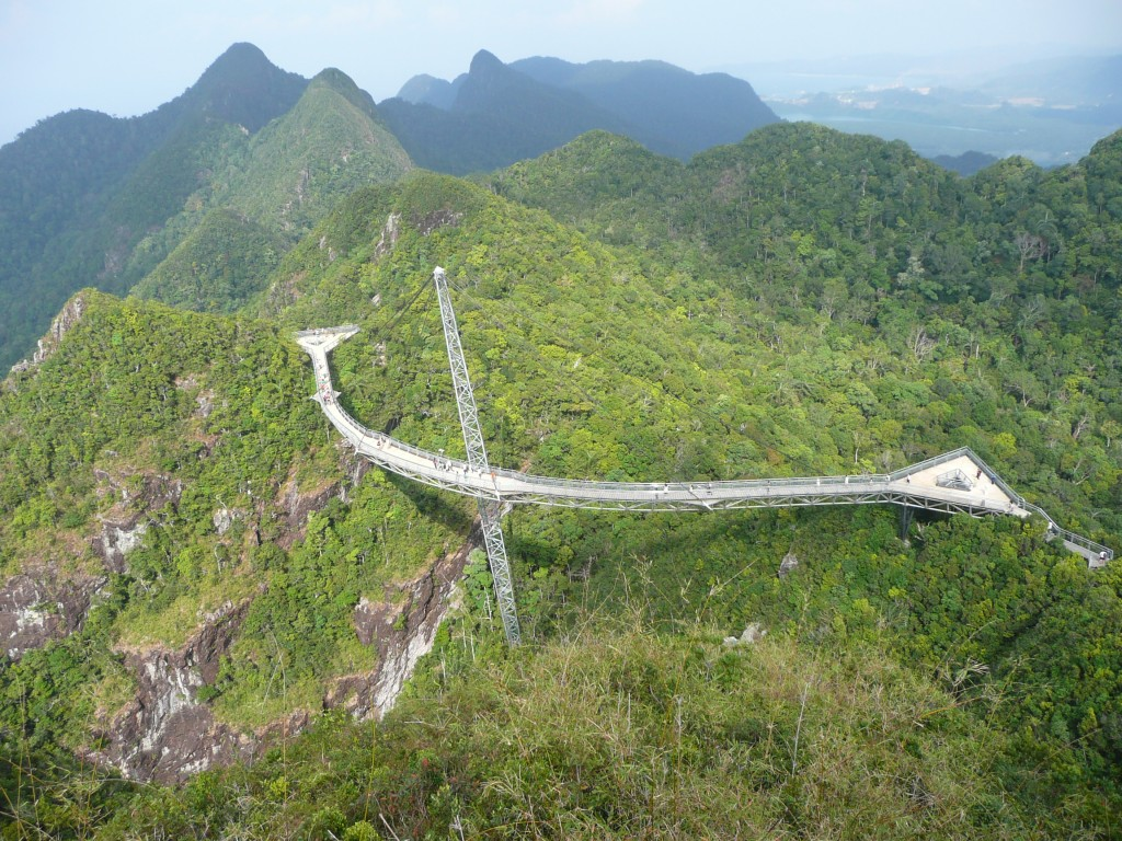 Langkawi Sky Bridge in  toata splendoarea sa