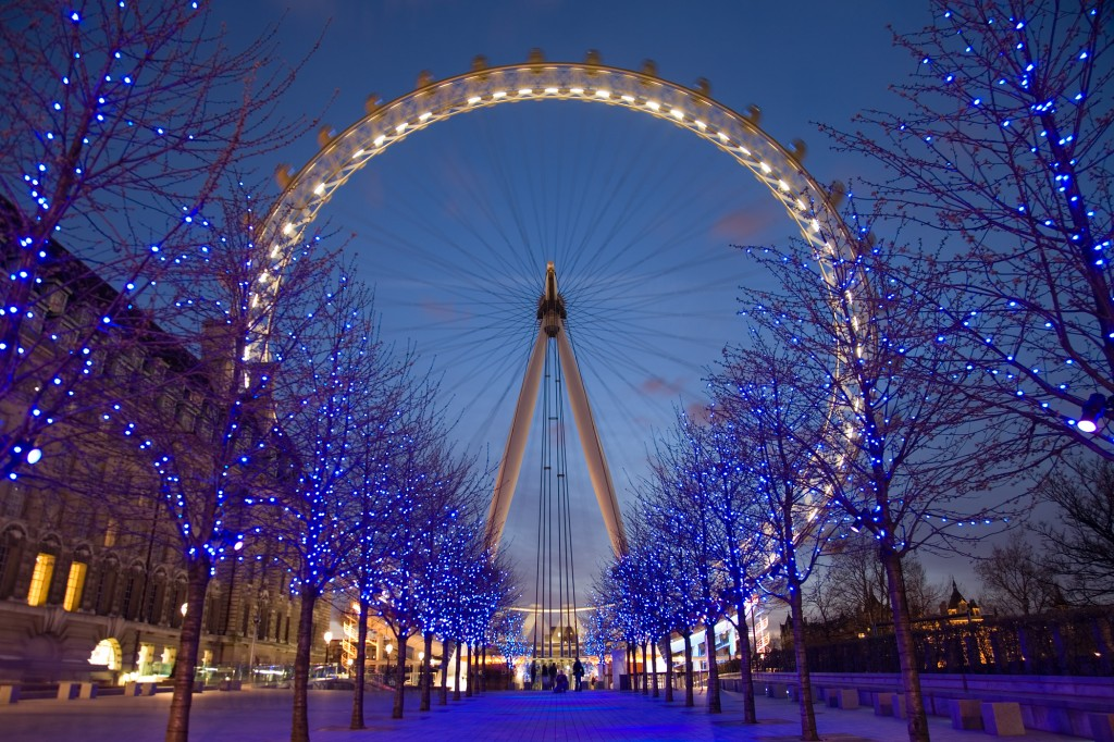 London Eye pe inserate