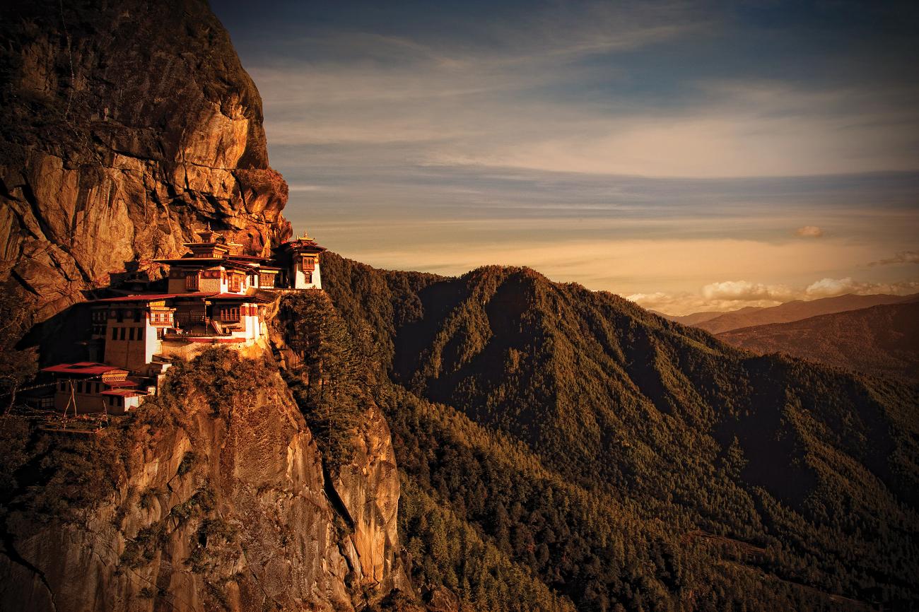 Mănăsatirea Paro Taktsang, Buthan