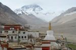 Mănăstirea Rongbuk de la poalele Everestului