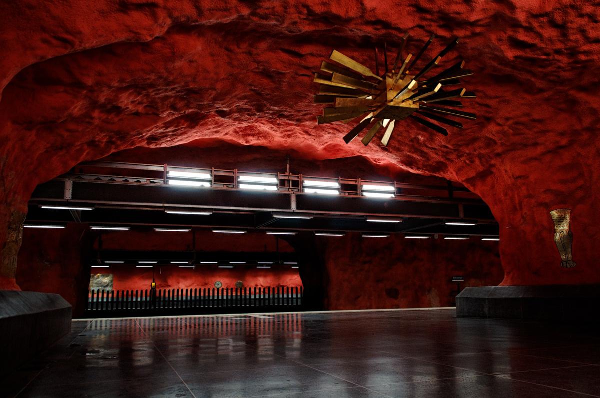 Metroul din Stockholm