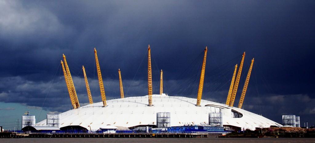 Millennium Dome in toata splendoarea sa