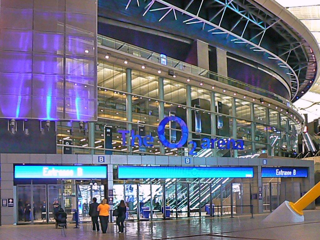 Millennium Dome intrarea pe arena O2