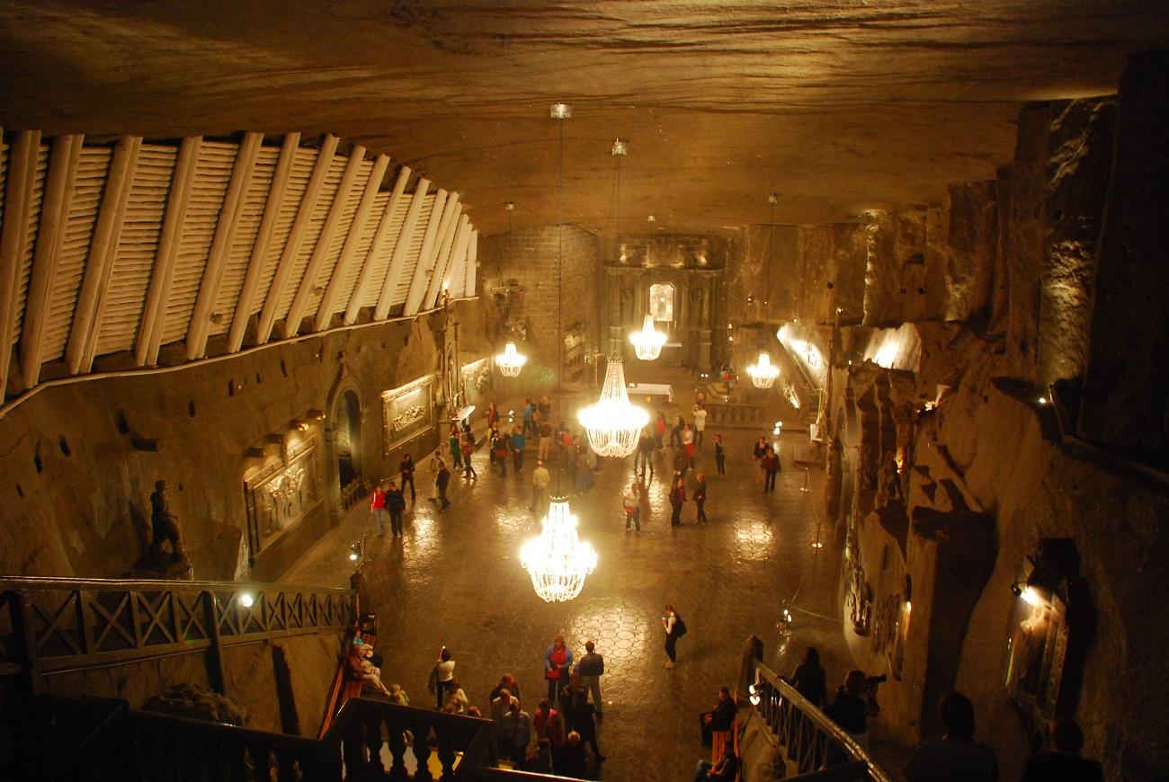 Mina de sare Wieliczka, Polonia, vedere de ansamblu