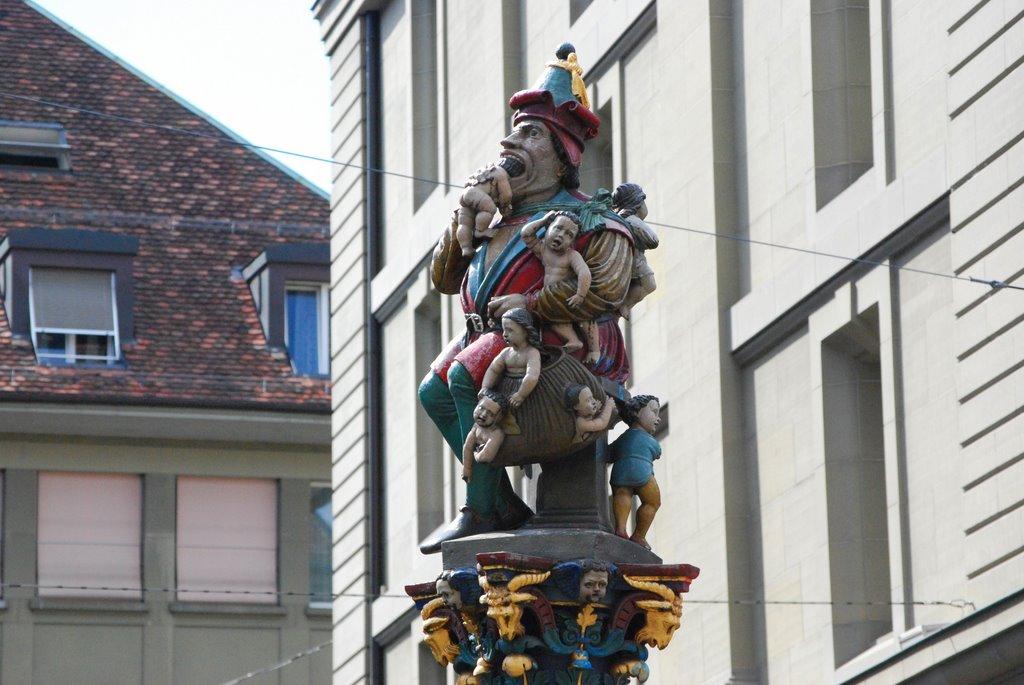 Monumente ciudate - Mâncătorul de Copii