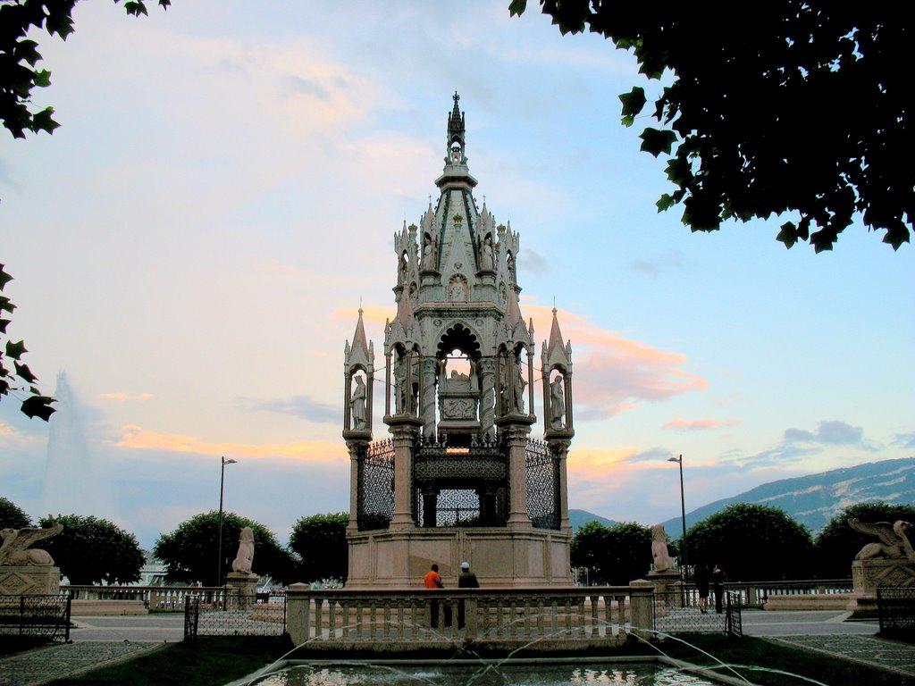 Monumentul Brunswick, Geneva