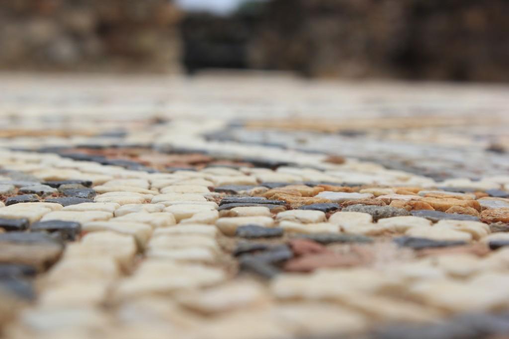 Mozaic de foarte aproape