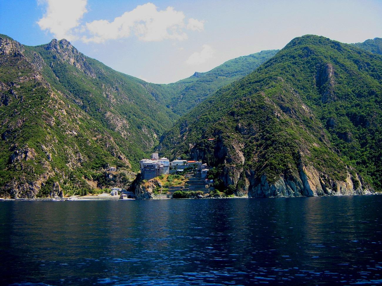 Muntele Athos, Grecia.