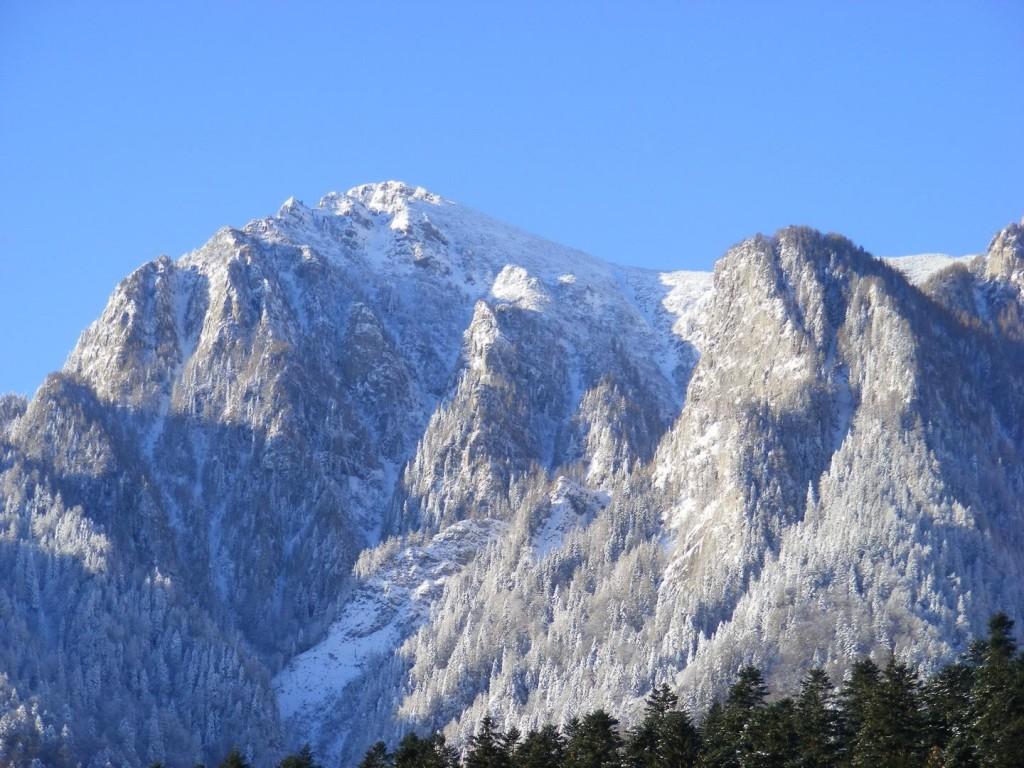 Muntele in toata puritatea lui