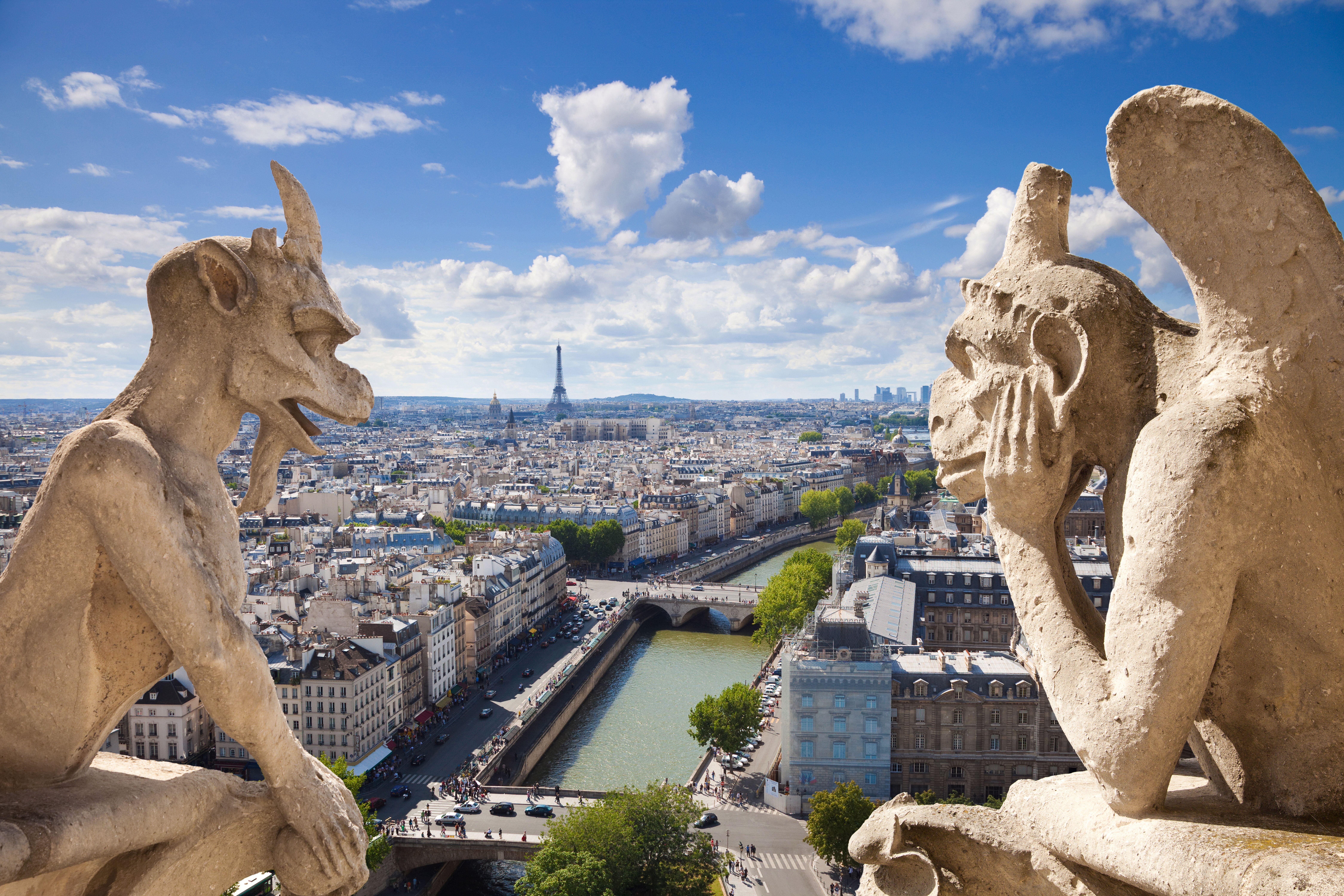 Notre Dame de Paris, celebrii gargui ai cladirii