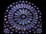 Notre Dame de Paris, una dintre cele trei roze
