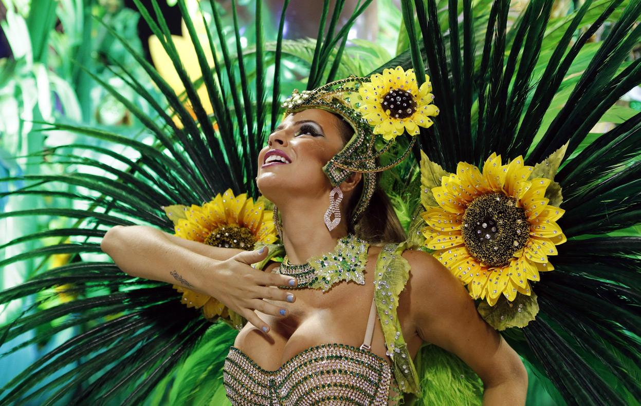 O floare la Carnavalul de la Rio