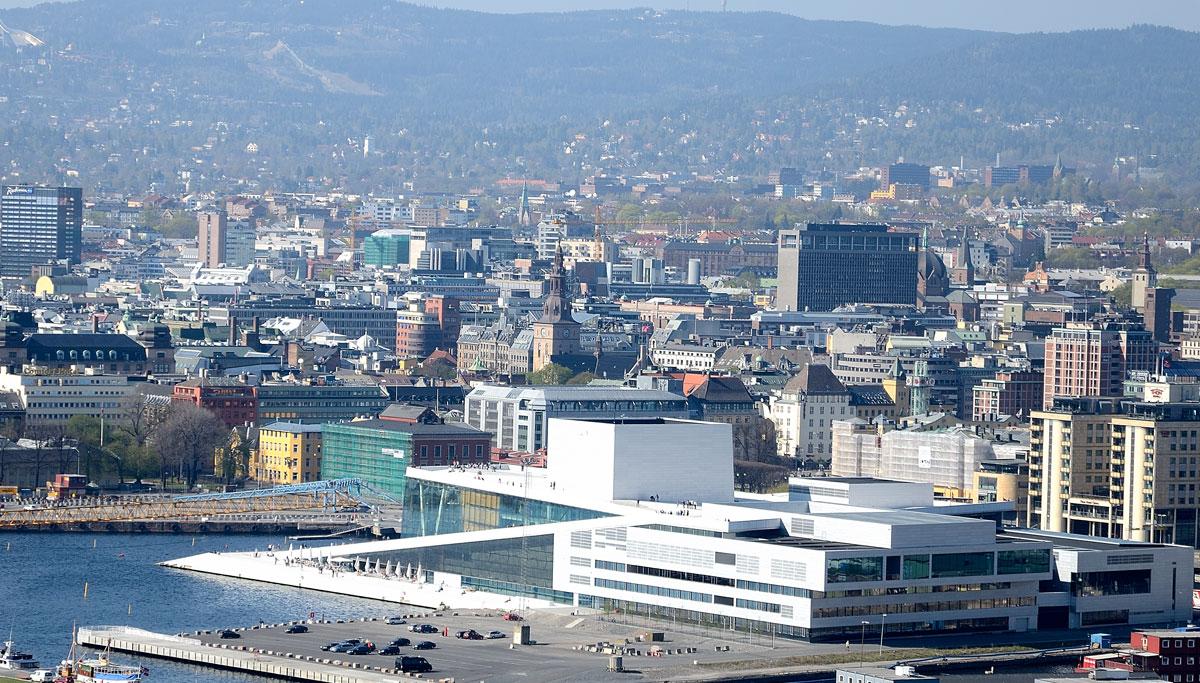 Oslo, privire de ansamblu