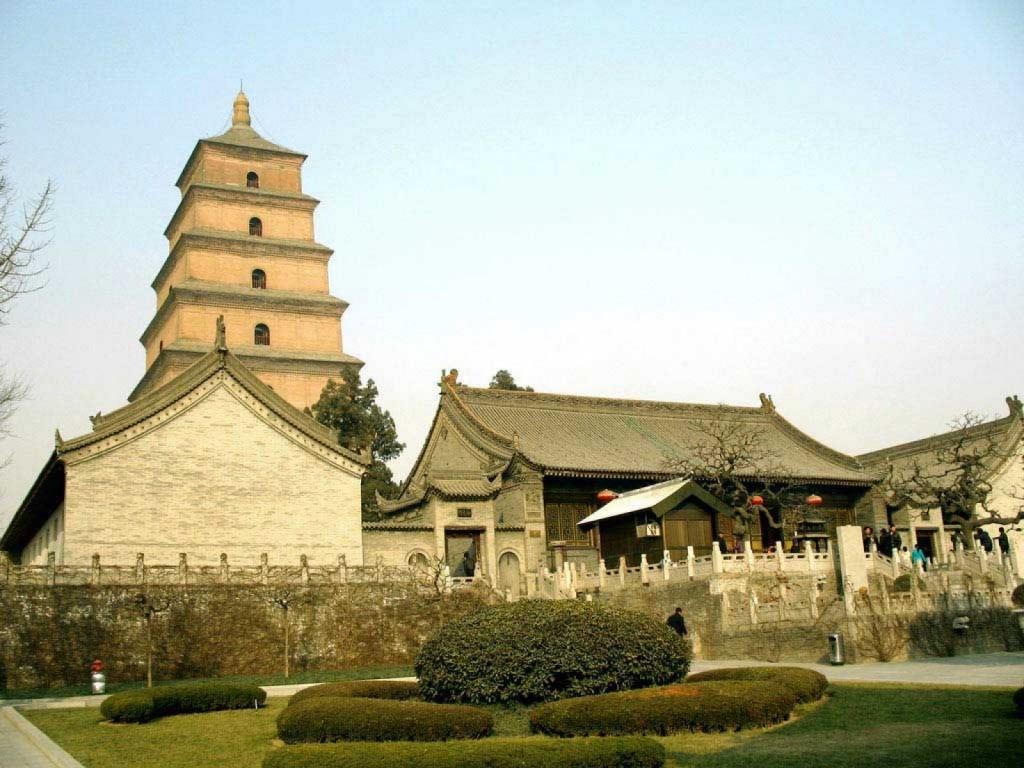 Pagoda Gâștei Sălbatice, Xian