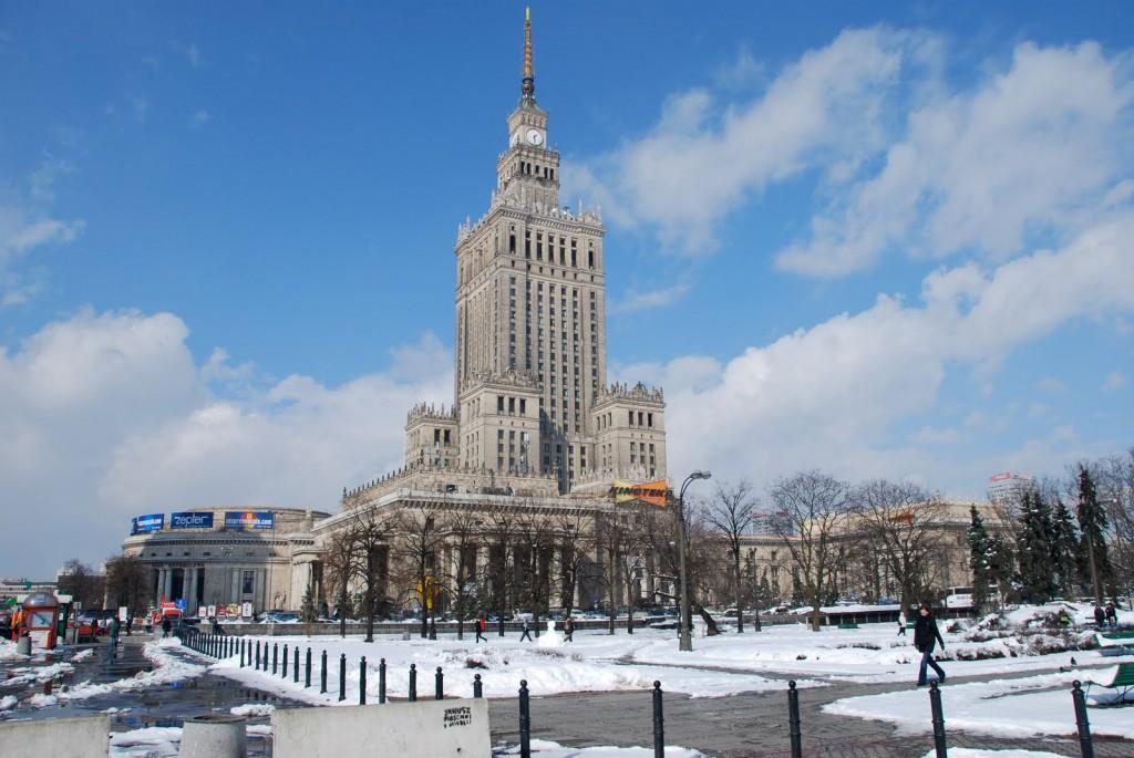 Palatul Culturii și Științei din Varșovia