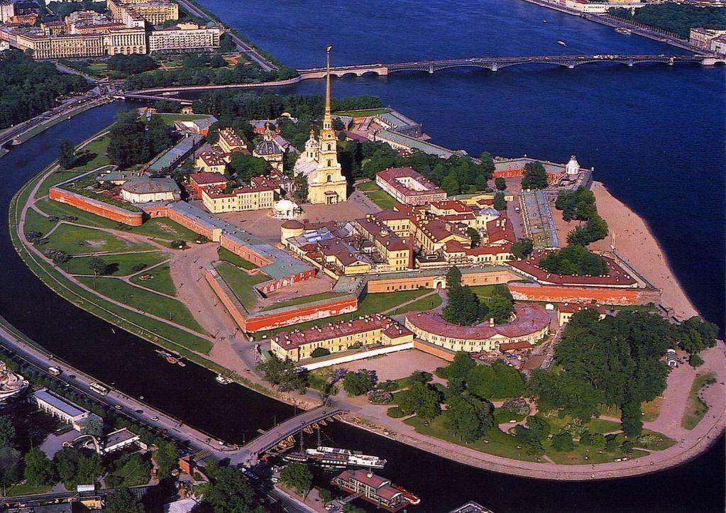 Panorama Oraşului Saint Petersburg, seara