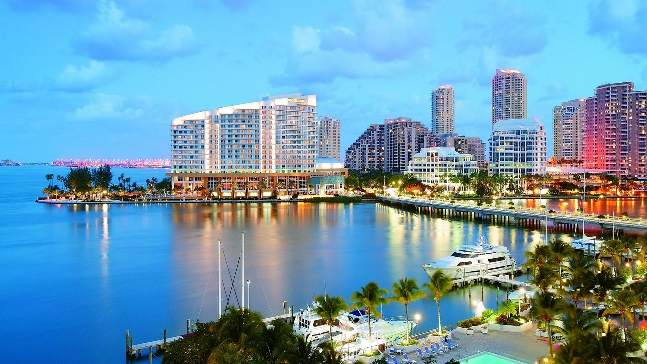 Panorama Oraşului Miami