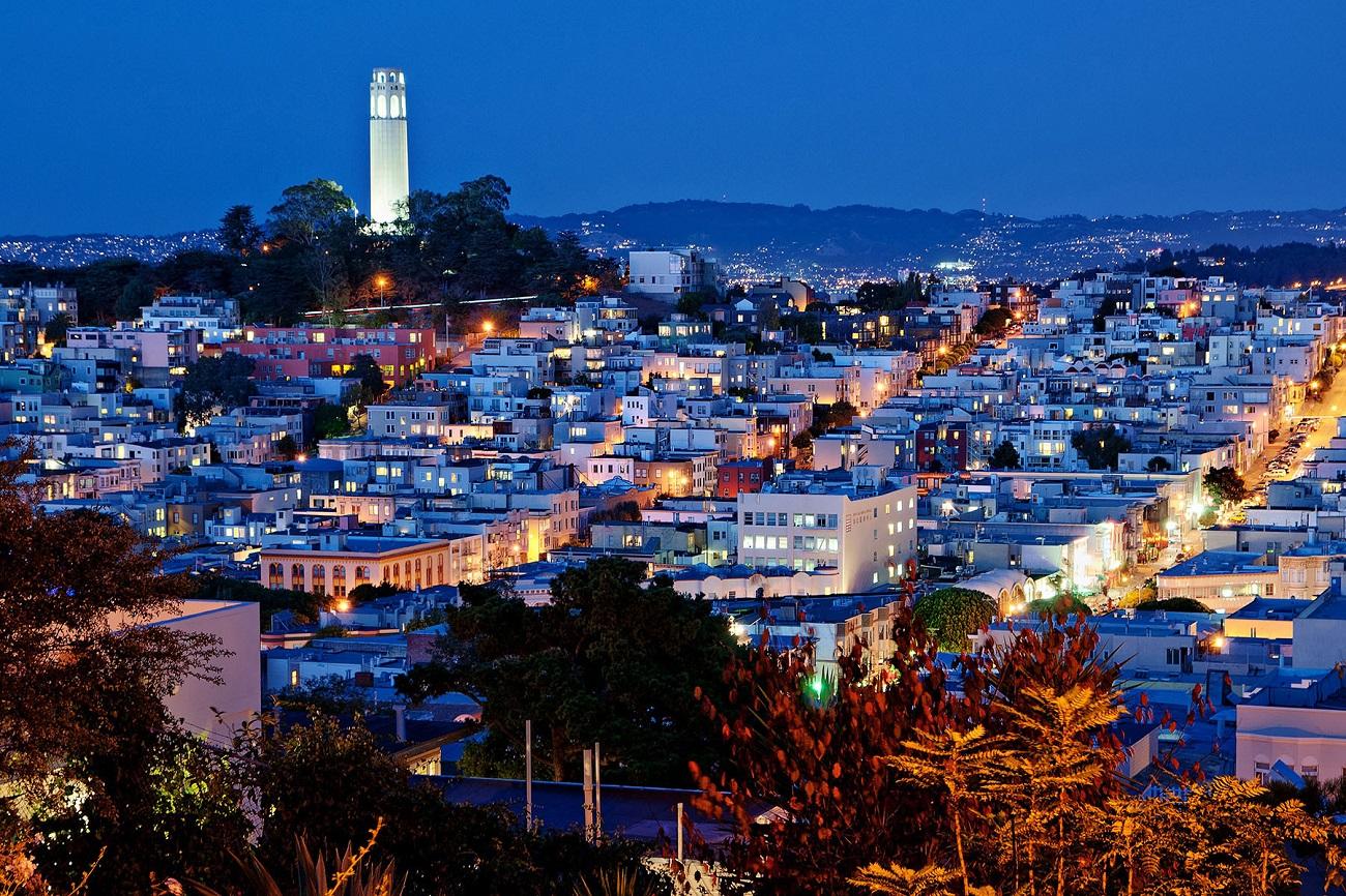 Panorama oraşului San Francisco