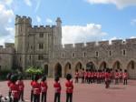 Parade specifice la Castelul Windsor din Anglia