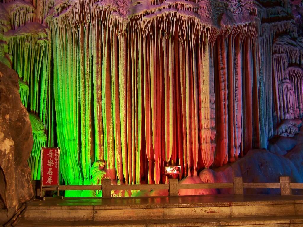 Peştera Flautului de Trestie, China