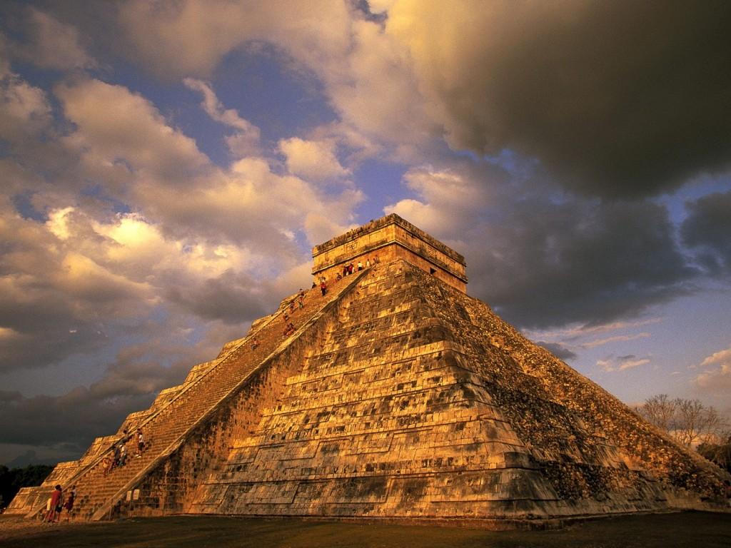 Piramidă Mayașă în Mexic