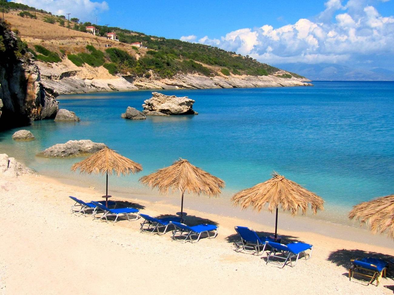 Plaja Xigia, Insula Zakynthos, Grecia