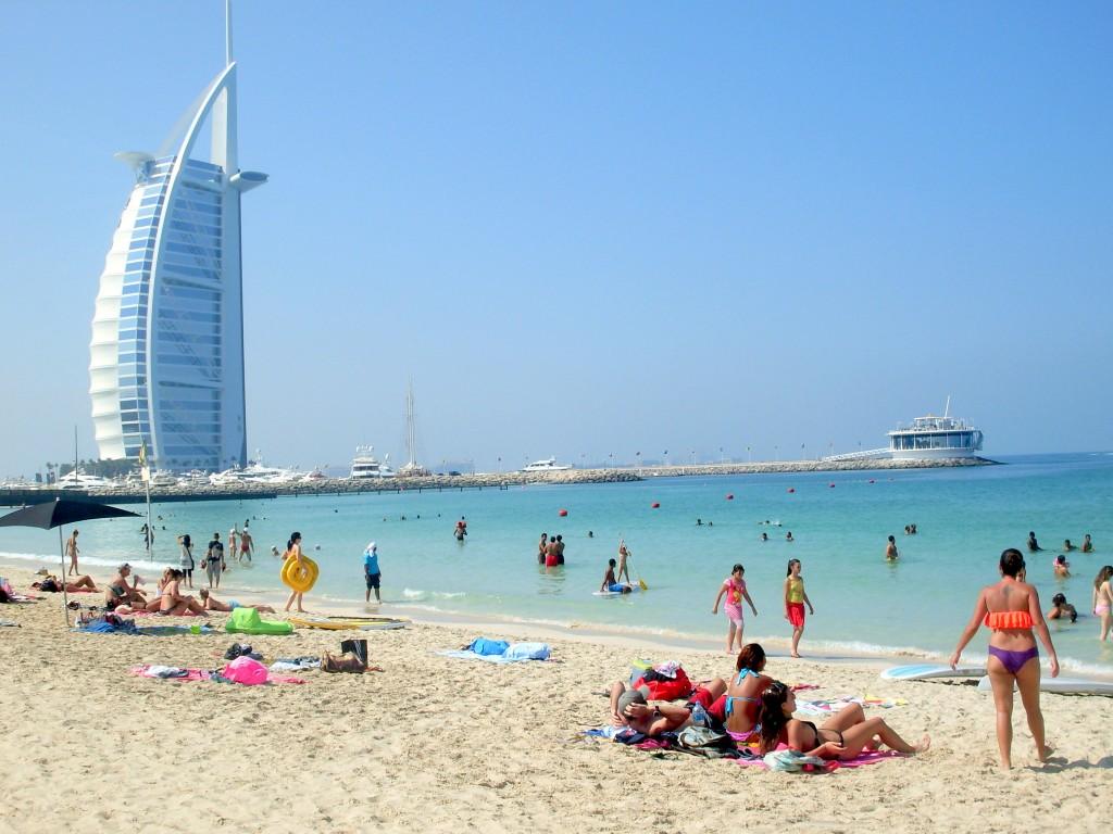 Plajă din Dubai