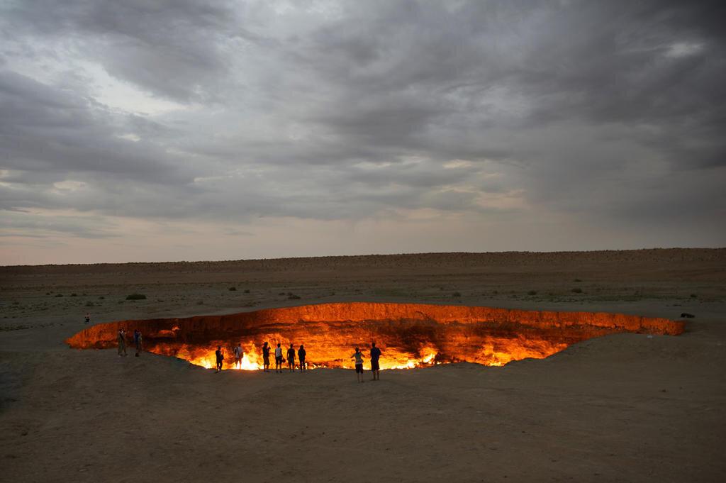 Poarta Iadului, Turkmenistan
