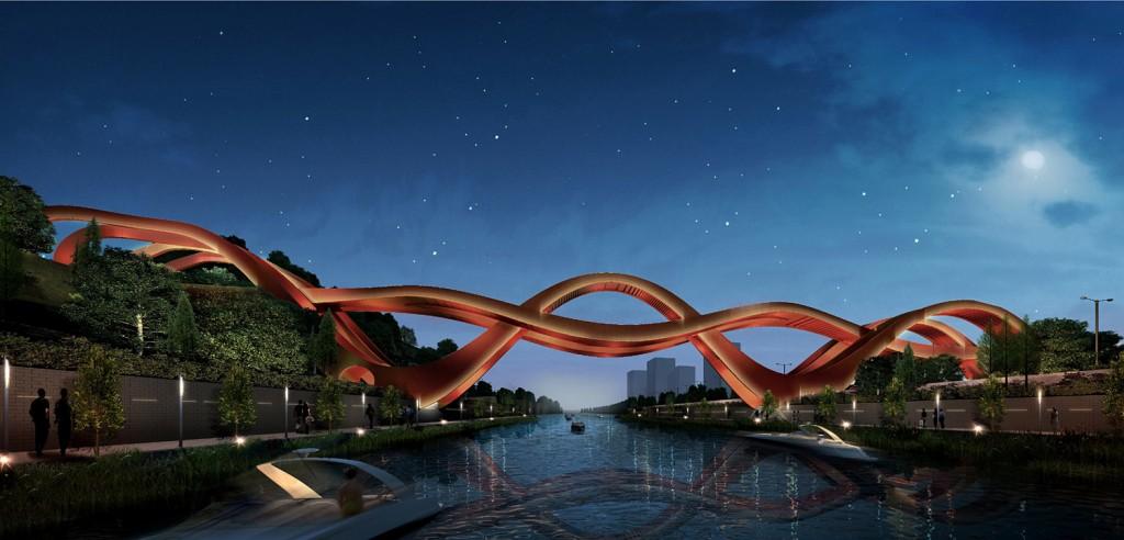 Podul pe timpul nopții