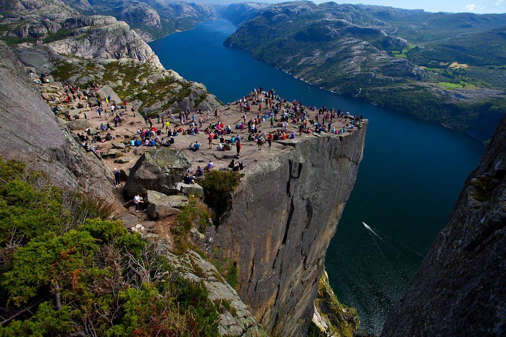 Preikestolen, Norvegia.