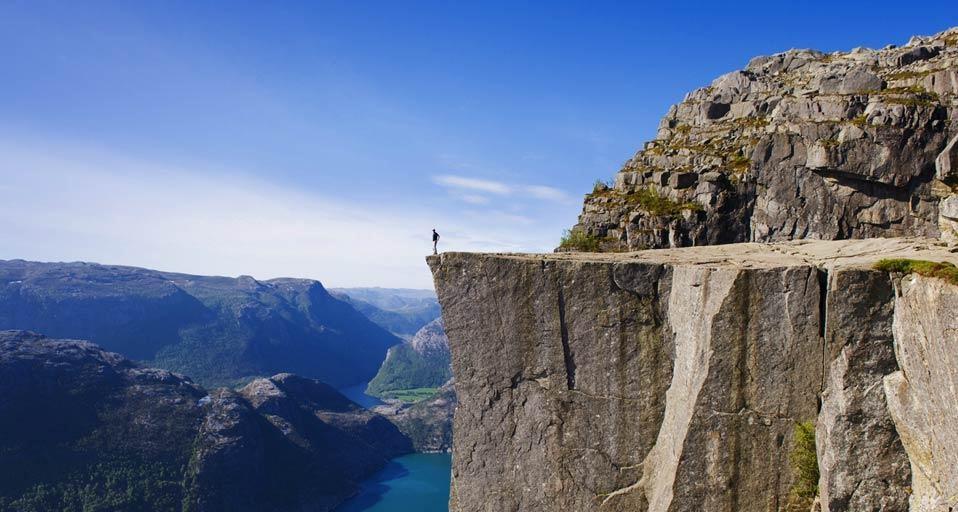 Preikestolen, Norvegia