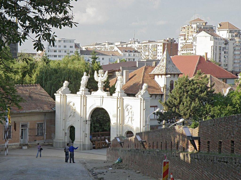 Privire de ansamblu asupra portii Alba Iulia
