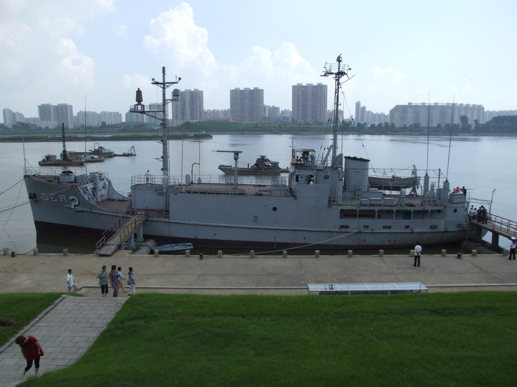 Pyongyang, USS Pueblo, o grea lovitură dată în coasta capitalismului american