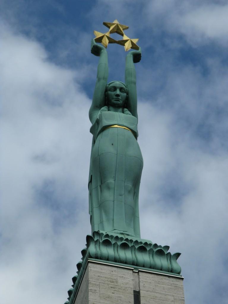Riga, Monumentul Libertății