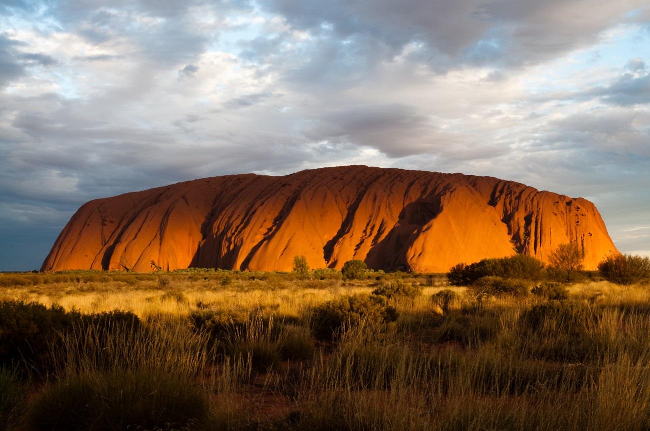 Roca Uluru, Australia