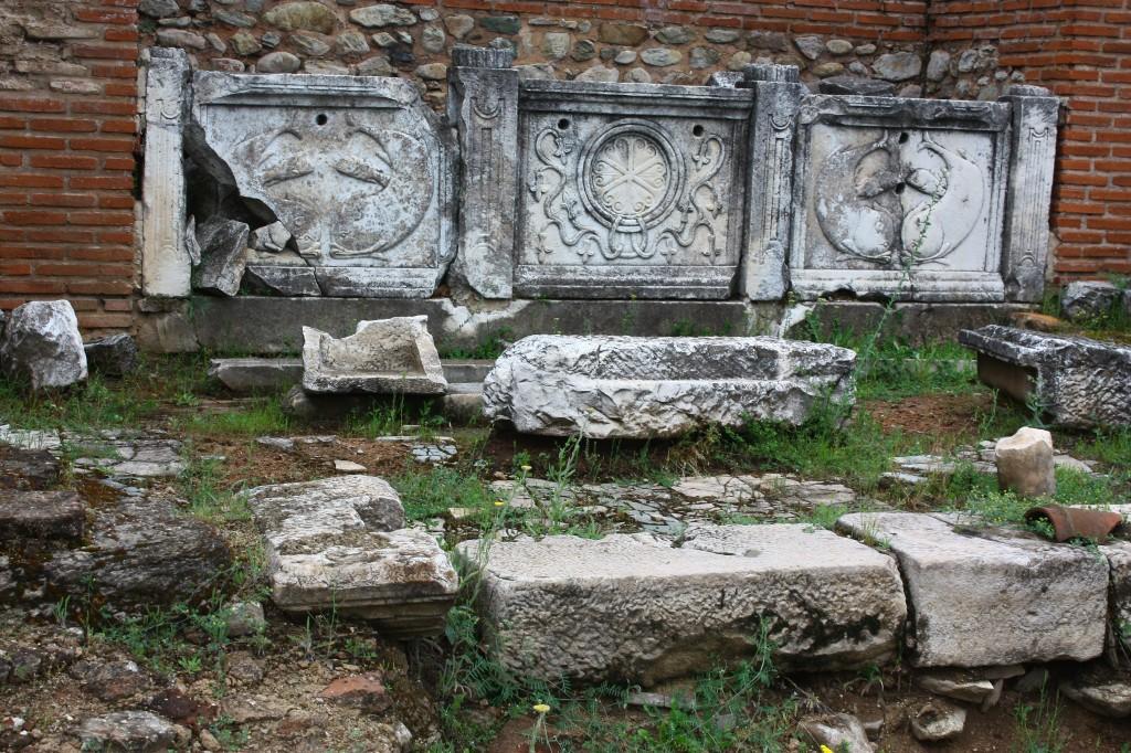Ruinele din Heraclea Lyncestis amintesc de epoca creștină