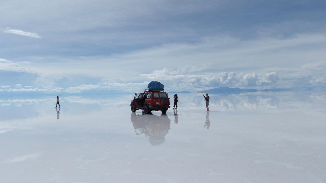 Salina Uyuni, rută de acces spre Artiplano