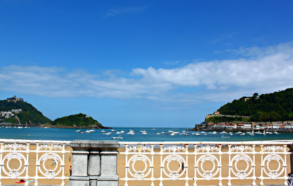 San Sebastian, privire spre port