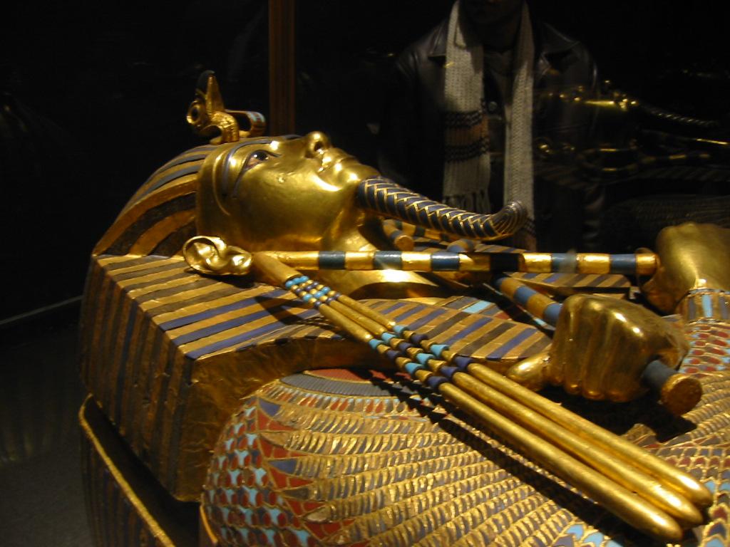 Sarcofagul lui Tutankamon