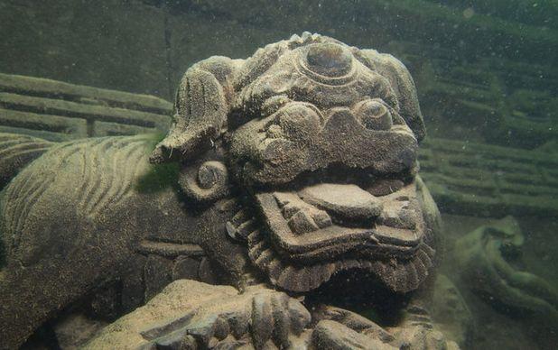 Shicheng, leii sunt la fiecare pas